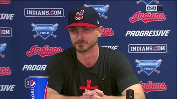 Josh Tomlin knows his weakness and how to combat it