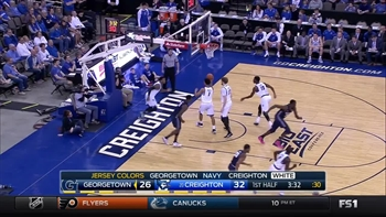 Top Play by L.J. Peak vs. the Creighton Bluejays