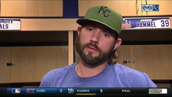 Hammel says he 'got too cute' with his pitches