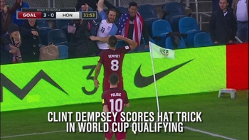 Clint Dempsey moves in on all-time USA scoring record
