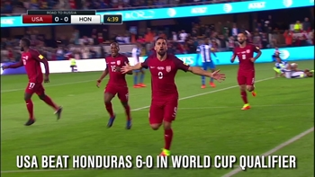 The USMNT made a statement against Honduras