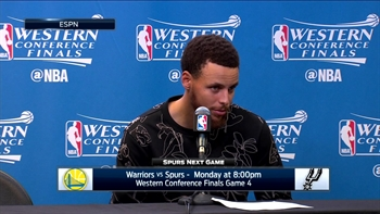 Stephen Curry on Game 3 win against San Antonio