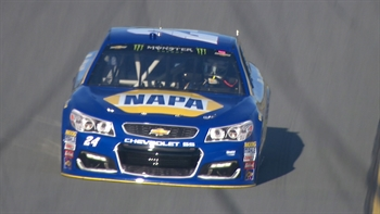 Chase Elliott Wins Pole Position | 2017 DAYTONA 500 | FOX NASCAR