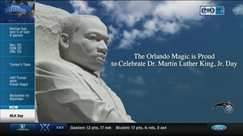 Magic discuss the legacy of Dr. Martin Luther King Jr. on MLK Day