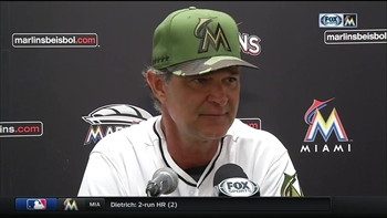 Don Mattingly hoping Marlins can carry momentum forward