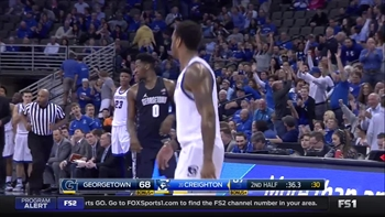 Top 5 Plays of the Game, Creighton Bluejays vs Georgetown Hoyas, 2/19/2017