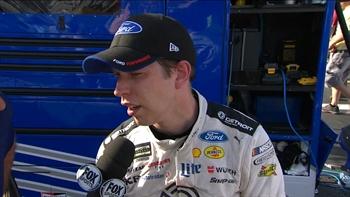 Brad Keselowski Comes Home Second | 2017 RICHMOND | FOX NASCAR