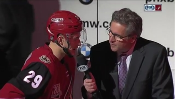 Perlini: First goal that much sweeter with win