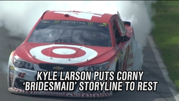 Kyle Larson Puts Bridesmaid Storyline to Rest