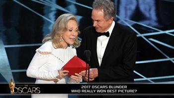 What the heck happened at the Oscar's?
