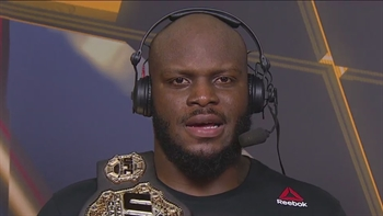Derrick Lewis explains stomach pain, wants to fight Mark Hunt | UFC ON FOX
