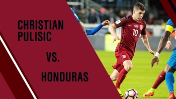 Christian Pulisic vs. Honduras