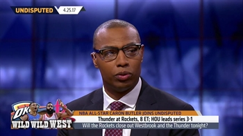 Caron Butler explains why the Rockets will close out Russell Westbrook and OKC | UNDISPUTED