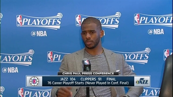 Chris Paul after Game 7 loss: We've been here before too many times