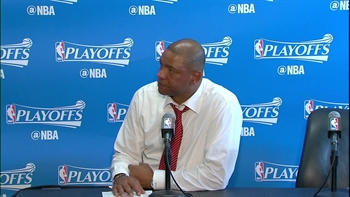 Doc Rivers: 'Our fans were phenomenal tonight'