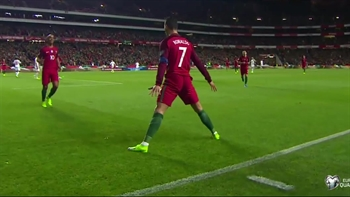 Cristiano Ronaldo scores for Portugal against Hungary | 2018 World Cup Qualifying