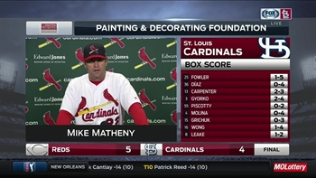 Matheny on Cardinals' situational hitting: 'We've got to get it done'
