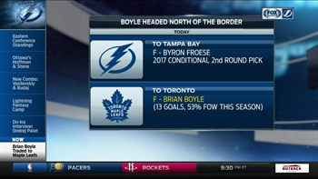 Breaking down the Brian Boyle trade