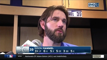 Jason Hammel: 'It's amateur stuff that I'm doing right now'