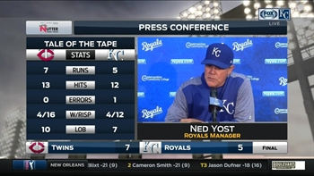 Ned Yost on Miguel Sano: 'You make a mistake and he's gonna hit it hard'