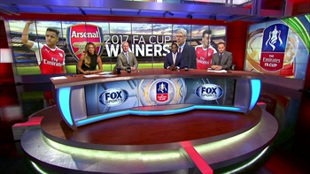 Kate Abdo and crew discuss Arsenal's win over Chelsea | 2016-17 FA Cup Final Highlights
