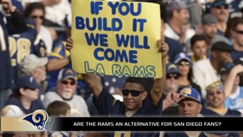 Some San Diego fans would rather cheer for the Rams than the Chargers