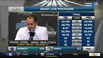 Frank Vogel on loss: 'That's just the game of basketball'