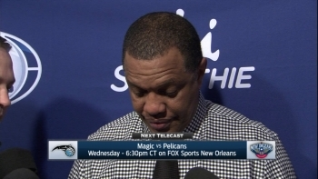 Alvin Gentry talks tough loss to Indiana