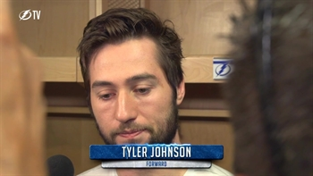 Tyler Johnson on next season: 'We're already motivated'