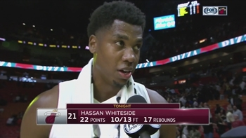 Hassan Whiteside: We know what's at stake in these game