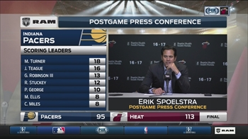 Erik Spoelstra: This felt like a playoff battle
