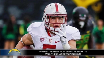 Are the Chargers eyeballing Christian McCaffrey at the 7th overall pick?