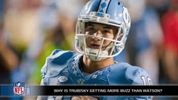 How in the world is Mitch Trubisky creating more buzz than Deshaun Watson?