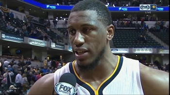 Thaddeus Young 'just wanted to bring that spark' against Pelicans