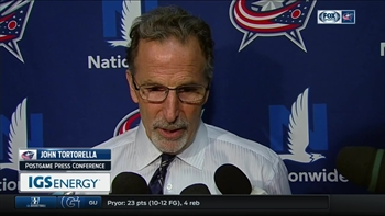 Sunday's Jackets game left Coach Torts 'speechless'