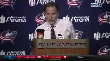 Tortorella, like his players, knows the Blue Jackets beat themselves