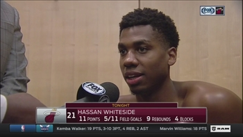 Hassan Whiteside says Heat have become a family this season