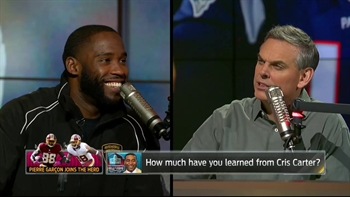 Pierre Garcon joins Colin Cowherd in studio | THE HERD (FULL INTERVIEW)