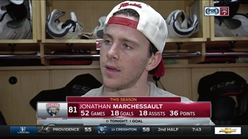 Jonathan Marchessault: 'We were a little rusty'