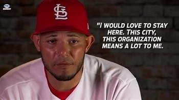 Yadier Molina hopes to be a Cardinal for life