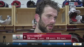 Keith Yandle: 'You can never doubt that we have a hard working group'