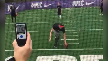 Watch a MLB pitcher throw a ball 110 MPH