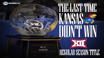 The last time Kansas didn't win the Big 12