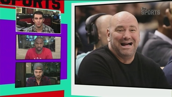 Dana White and Floyd Mayweather Jr. continue their war of words | TMZ SPORTS