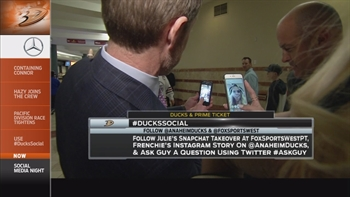 Ducks Live: Social Media Night