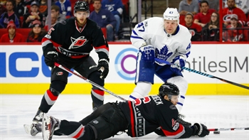 Hurricanes LIVE To Go: Canes let another slide out of their grasp at home against the Maple Leafs