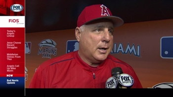 Angels Live: Norris no worse for wear after leaving game early