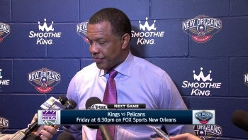 Alvin Gentry on Cousins' return, win over Dallas
