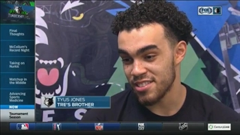 Wolves' Jones rooting for younger brother Tre in state championship