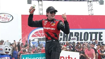 Ryan Blaney Wins at Charlotte | 2017 XFINITY SERIES | FOX NASCAR
